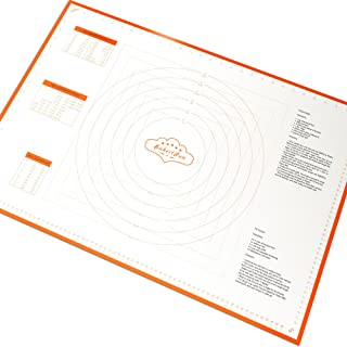 Baking Mat, X-Large, 29.5 x 20.5 Inches, Orange