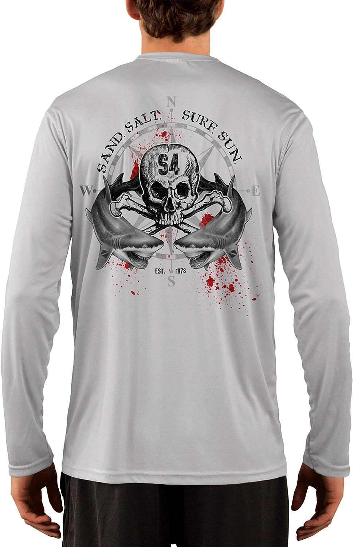 SAND.SALT.SURF.SUN. Shark Brand Cheap Sale Venue Blood Men's Wholesale UPF Sun 50+ Protection UV