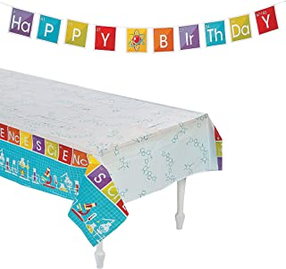 Science Kit For Kids Birthday Party Favors Supplies, Tablecloth Size: 54
