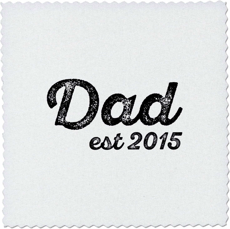 Jacksonville Mall 3dRose Dad established 2015 distressed cursive Our shop most popular whit lettering on