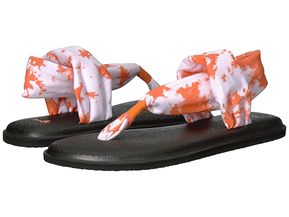 Sanuk Yoga Sling 2 Prints (Orange Tye Dye) Women