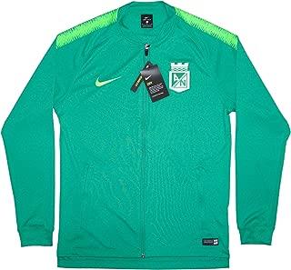 Men's Official 2018/19 Atletico Nacional Dry Squad Jacket Knit AH9677-324 Green