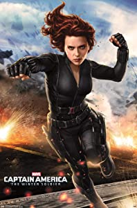 Trends International Marvel-Captain America-The Winter Soldier-Black Widow Wall Poster, 22.375 in x 34 in, Premium Unframed Version