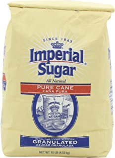 Imperial Extra Fine Sugar, Granulated 160 Ounce / 10-Pound