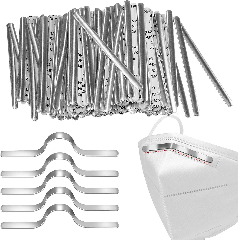 DREETINO Nose Bridge for Mask Aluminum Adhesive 100PCS Wir Brand Cheap Price reduction Sale Venue
