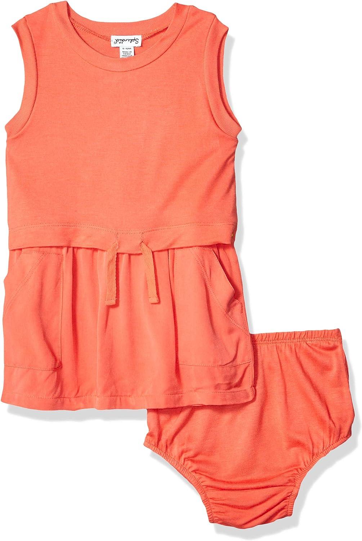 Splendid Baby Nashville-Davidson Mall Girls Knit Woven Mix outlet Set Dress