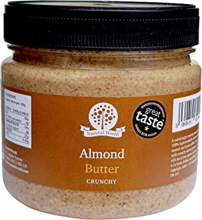 Nutural World - Beurre d'Amande croustillant (1kg) - *** nouvel emballage ***