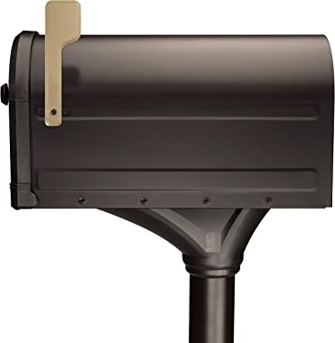 Architectural Mailboxes 7980RZ Roxbury Kit Mailbox, Rubbed Bronze