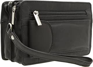 Jejo-bags® Men's Genuine Leather Wrist Bag in 3 Colours
