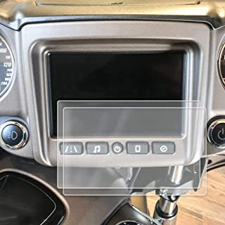 Red Hound Auto Screen Saver 2pc Custom Fit Compatible with Indian Chieftain Ride Command 2017-2019 Motorcycle Invisible High Clarity Touch Display Protector Minimizes Fingerprinting 7 Inch