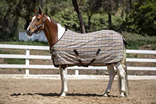 Kensington Products Poly Cotton Horse Blanket - Lightweight Breathable Equine Stable Day Sheet
