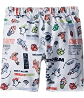 Kenzo Kids - Food Print Swim Short (Big Kids)