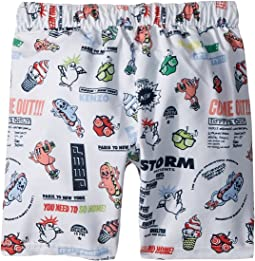 Kenzo Kids Food Print Swim Short (Big Kids)