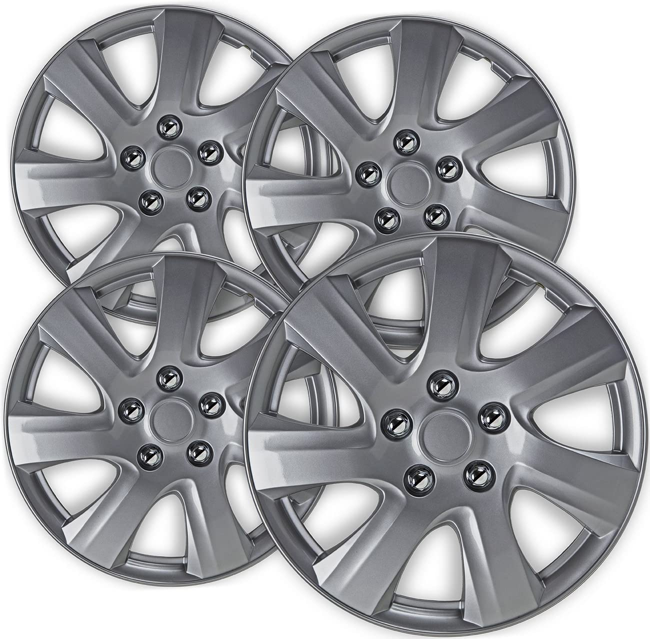 16 inch Hubcaps Best for 2014-2016 Mazda 4 Online limited product Co of Set - 3 Wheel 70% OFF Outlet