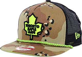Toronto Maple Leafs New Era NHL A-Rope Camo Mesh 950 A-Frame Snapback Cap Hat