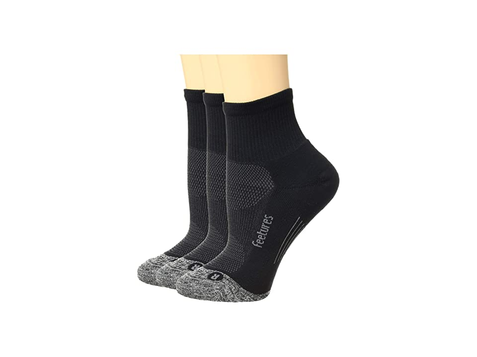 Feetures - Feetures Elite Light Cushion Quarter 3-Pair Pack