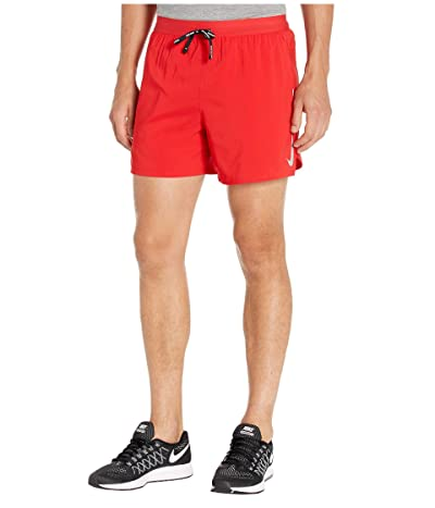 Nike Flex Stride Shorts 5 BF (University Red/Reflective Silver) Men