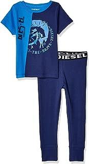 Boys' Short Sleeve T-Shirt and Jogger Sleepwear Set