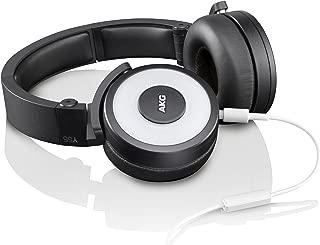 AKG 爱科技 Y55 便携多色 头戴式 智能手机可通话耳机 白色