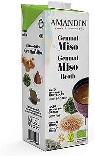 Amandin Caldo Miso - Paquete de 6 x 1000 ml - Total: 6000 ml