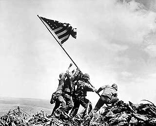 Home Comforts Iwo Jima World War Ii Poster U.S. Military American History Posters Vivid Imagery Laminated Poster Print 24 x 36