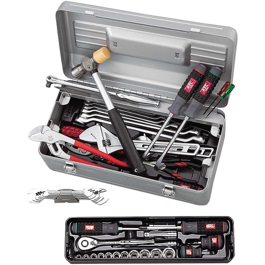添付愛国的な注文KTC(ケーテーシー) ツールセット 工具セット (片開きケースタイプ) SK3481S