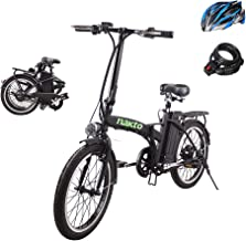 BRIGHT GG NAKTO 20 inch Folding Electric Bike for Adults 250W Ebike with 36V10AH Lithium Battery