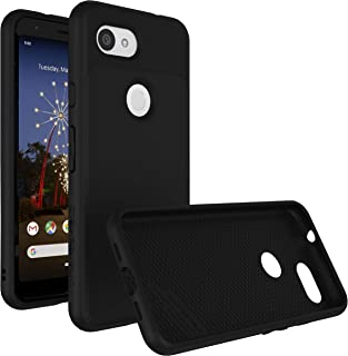 RhinoShield Case for Google Pixel 3a XL [SolidSuit] | Shock Absorbent Slim Design Protective Cover with Premium Matte Finish [3.5M/11ft Drop Protection] - Classic Black
