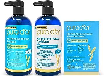 PURADOR Hair 3piece Set / Shampoo & Conditioner & Masque