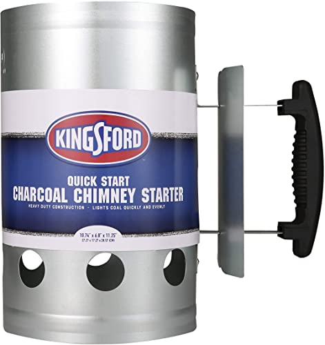 new arrival Kingsford Heavy Duty Deluxe Charcoal Chimney Starter | wholesale BBQ Chimney Starter for outlet online sale Charcoal Grill and Barbecues, Compact Easy to Use Chimney Starters and BBQ Grill Tools sale