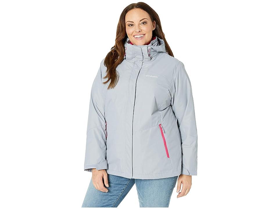 Columbia Plus Size Bugabootm II Fleece Interchange Jacket (Astral/Cactus Pink) Women