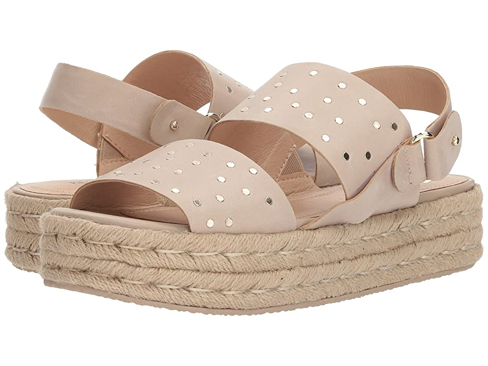 Kelsi Dagger Brooklyn Devon Espadrille Sandal (Bone Goat Leather) Women