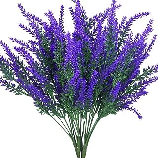 E-HAND Artificial Lavender Flowers Outdoor Purple WindowBox Garden Wedding Wholesale Party Decor 4 PCS