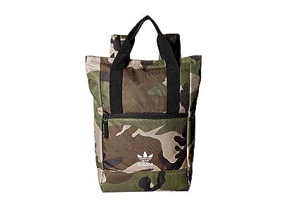 adidas Originals Originals Tote III Backpack (Olive Cargo Aw Camo) Backpack Bags