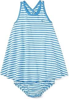 Ralph Lauren Baby Girls Striped Cotton Dress & Bloomer Set