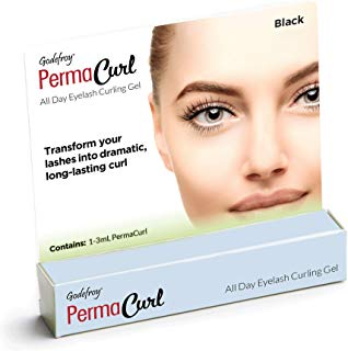 Godefroy PermaCurl All Day Eyelash Curling Gel, 0.1 Ounce, Black