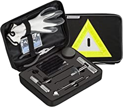 Secureguard – 66 Pieces Heavy Duty Tire Repair Kit | Designed for Flat Tire Puncture Repair | Premium Tools are Perfect for Car, Truck, Trailer, RV, ATV, Motorcycle, Tractor, or Equipment