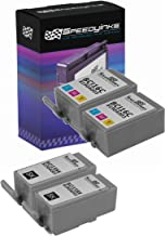 Speedy Inks Compatible Ink Cartridge Replacement for Canon BCI-15 and BCI-16 (2 Black, 2 Color, 4-Pack)