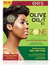 ORS Olive Oil Zone Relaxer Targeted Touch Up No-Lye Hair Relaxer (Pack of 2)