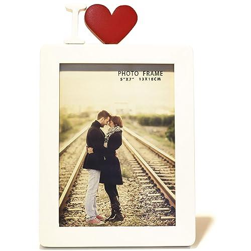 I Love You Photo Frame: Amazon com