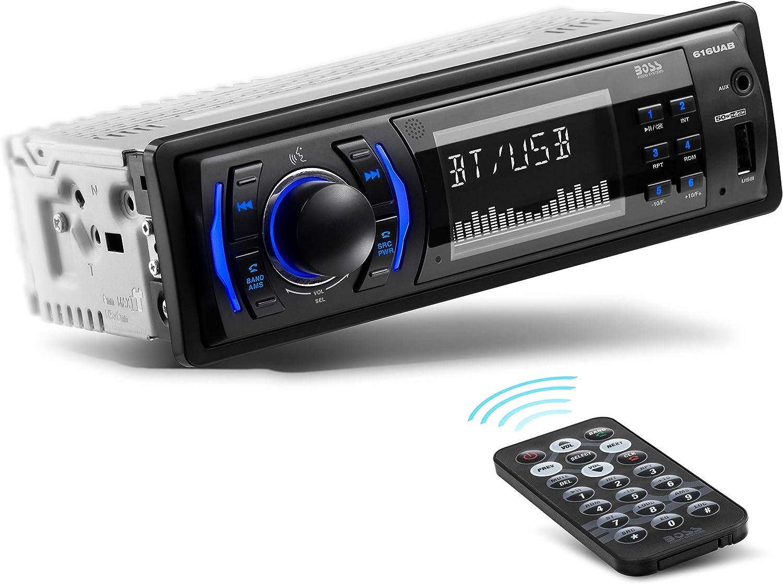 Boss Audio 616UAB Single DIN Mech Less Multi Media Player (No CD/DVD,