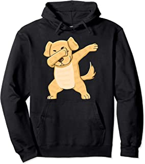 Dabbing Yellow Lab Clothes Dab Dance Labrador Retriever Pullover Hoodie