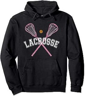 Lacrosse Hoodie Lacrosse Stick LAX Girl Lacrosse Player Tee