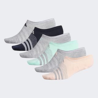 adidas womens Superlite Super No Show Socks (6-pair)