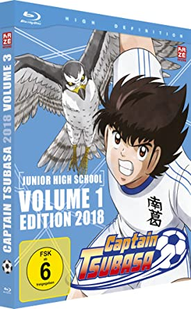 Captain Tsubasa 2018 - Box 3 - Junior High School - Vol.1 - [Blu-ray]