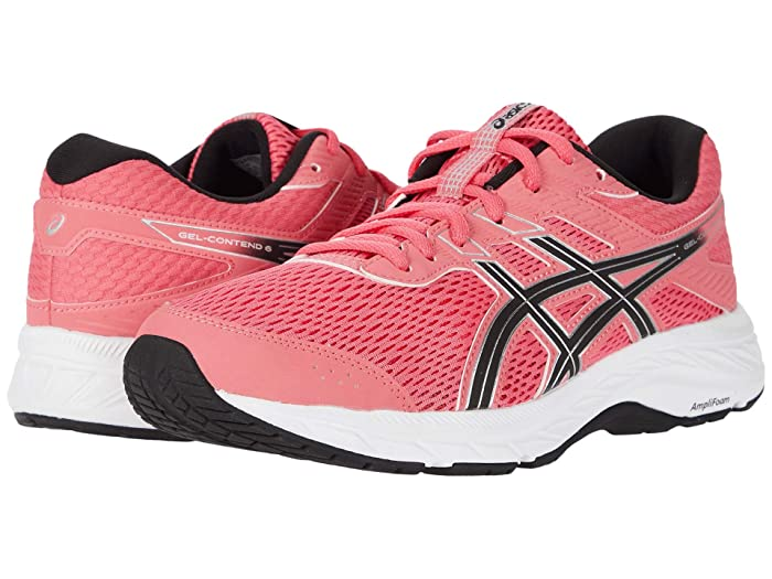 ASICS  GEL-Contend 6 (Pink Cameo/Pure Silver) Womens Running Shoes