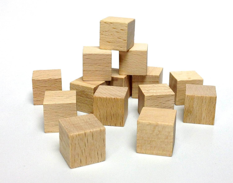 Holzwürfel 25x25x25mm VE 200 Stück B01N2MMXY6   Spielzeugwelt, glücklich und grenzenlos