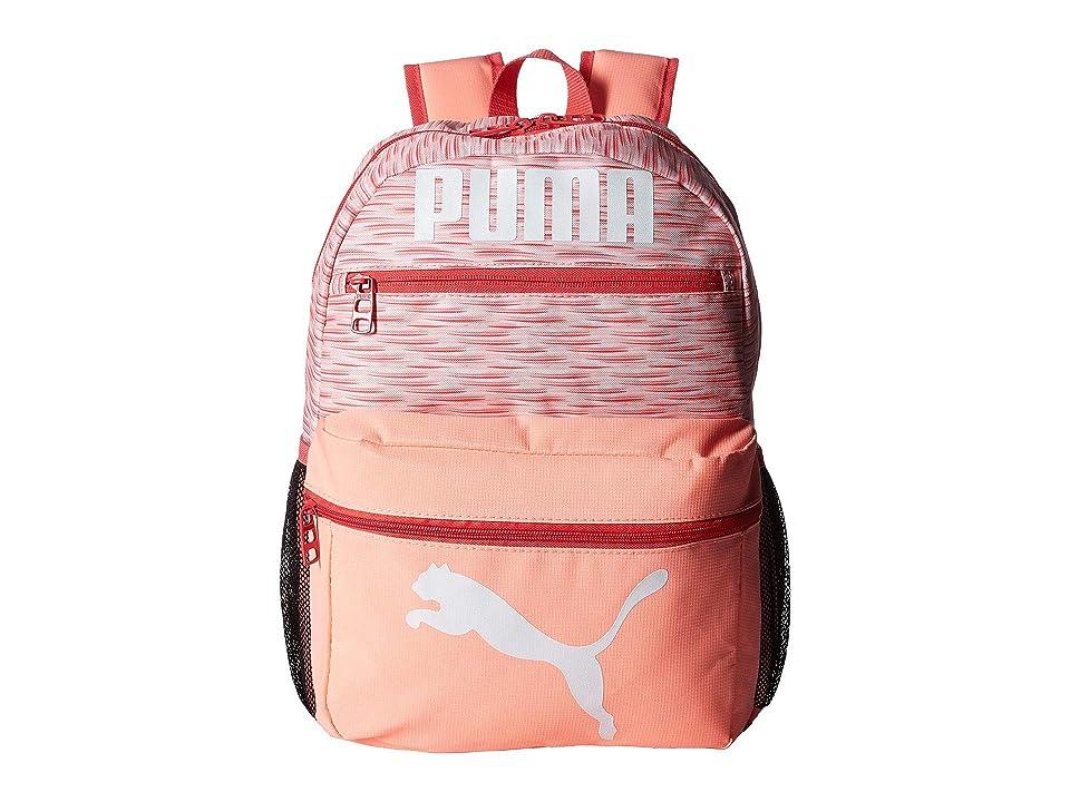 PUMA Evercat Meridian 2.0 Backpack (Little Kids/Big Kids) (Pink/White) Backpack Bags
