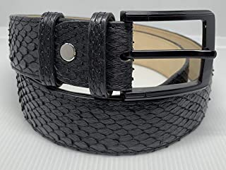 Fully Handmade Real High Quality Python Leather belt full python leather 120cm long 4 cm height