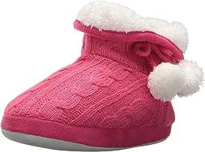 Stride Rite Girls' Cozy Boot Slippers